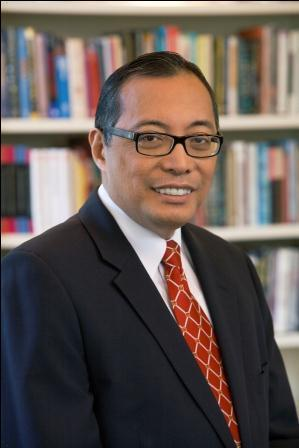 Incoming Woodbury University President Luis Ma. R. Calingo.