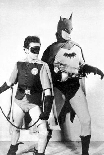 "Lewis Wilson was  the first actor to play the DC Comics character of Batman in live action. Columbia Pictures released the 15-chapter serial titled ""Batman"" in 1943. Douglas Croft played Robin."