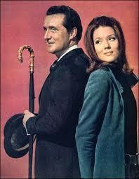 TV and Movie Spies: From the 1960s British show The Avengers Emma Peel (Diana Rigg) and John Steed (Patrick Macnee) popularized the genre of spy-fi. With elements of undercover spy missions and science fiction, the series was extremely successful.