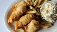 Runyons' fish and chips