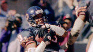 Bears' Shaun Gayle action