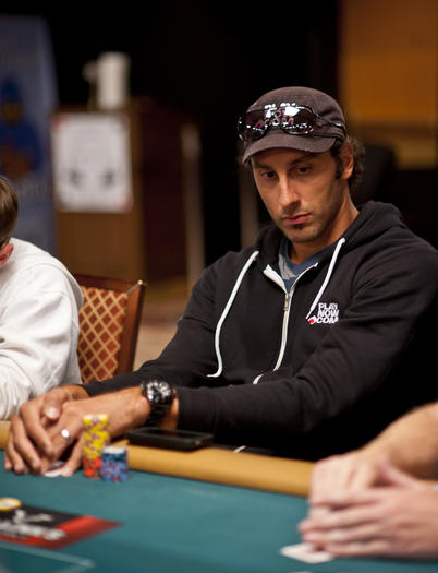 Roberto Luongo has survived Day 1A and Day 2A of the main event at the World Series of Poker.