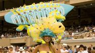 SAN DIEGO -- The Del Mar Thoroughbred Club begins its 75th season of horse racing next Wednesday. For the past 17 years, the hat contest has nearly upstaged the racing, especially since Katy Helen threw her hat in the ring.