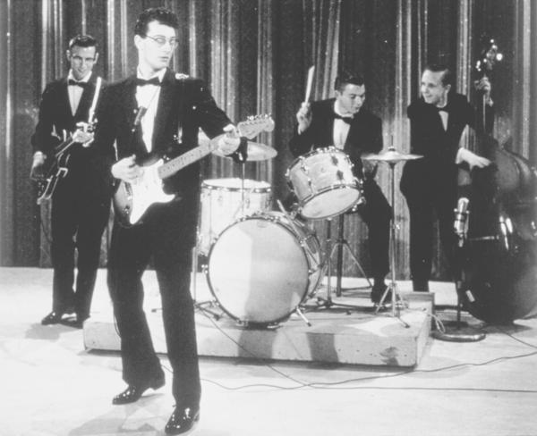 Buddy was one of the first well-known rock musicians to use the Fender Stratocaster guitar. The one he played just hours before his death in a 1959 plane crash is being restored.