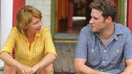 "Five years into their marriage, the freelance Toronto writers played by Michelle Williams and Seth Rogen in ""Take This Waltz"" have drifted, rudderless, into a harbor that is anything but safe."