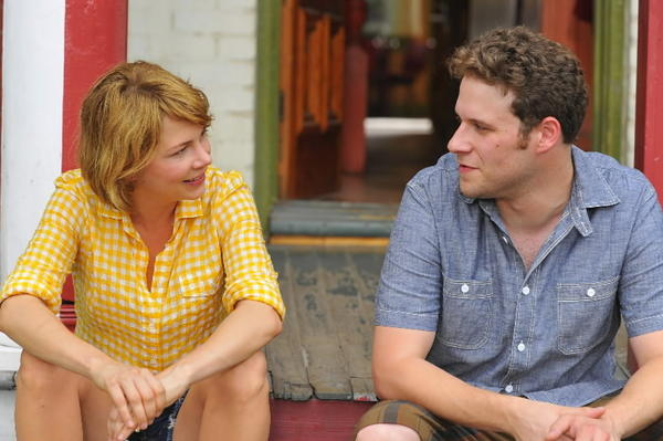 "Michelle Williams and Seth Rogen star in ""Take This Waltz."""