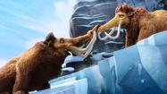 "First came the God particle, the Higgs boson. Then came ""Ice Age"" (2002). Then, ""Ice Age: The Meltdown"" (2006). Then ""Ice Age: Dawn of the Dinosaurs"" (2009). And now arrives ""Ice Age: Continental Drift,"" informally known as ""Ice Age 4,"" also known as a paycheck and a likely haul for all involved at Blue Sky Studios and 20th Century Fox."