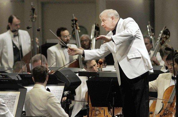 Conductor Leonard Slatkin opens the L.A. Phil's summer season at the Hollywood Bowl.