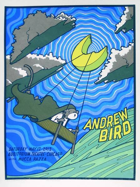 An Andrew Bird poster by Jay Ryan.