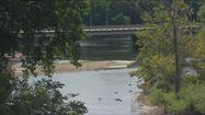 St. Joseph River at historically low levels