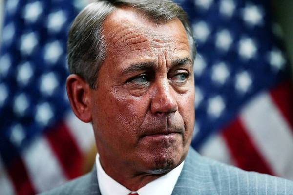 """I think there's a better way and that's why we're here today,"" Speaker John A. Boehner, shown at a news conference Tuesday, said during closing arguments before House Republicans' 33rd vote against the healthcare law."