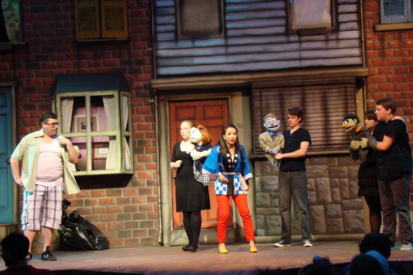 Annapolis Summer Garden Theatre Pulls The Right Strings With 39 Avenue Q 39 Chicago Tribune