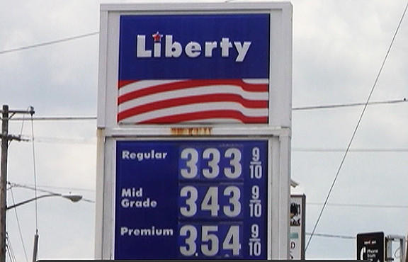 The Liberty Gas Station on West Washington Street had the cheapest gas prices among the stations the Herald-Mail visited Wednesday.