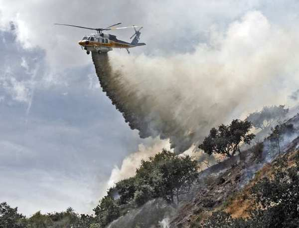 Glendale Fire Chief Harold Scoggins said the region has seen twice as many red flag warnings compared to last year, and the amount of acreage burned in the region has also doubled.
