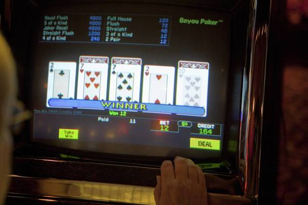 Claiming loyalty to the Grand Victoria Casino, Elgin officials on Wednesday denounced citywide video gambling.
