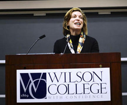 On Oct. 1, 2011, Barbara Mistick was inaugurated as the 19th president in the 142-year history of Wilson College.