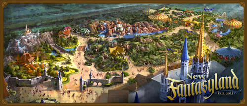Walt Disney World said Tuesday that it will build a new indoor roller coaster in the Magic Kingdom, as part of its expansion of the Fantasyland section of the theme park.