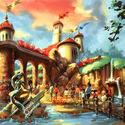 Rendering of new Little Mermaid attraction in Fantasyland at Walt Disney World