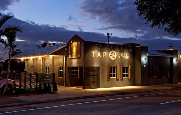 Tap 42 is located on Andrews Avenue in Fort Lauderdale.
