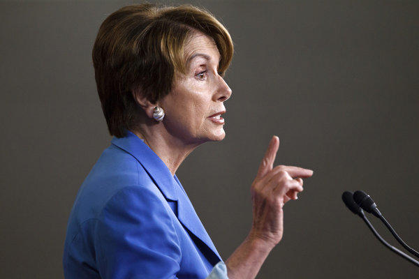 "House Minority Leader Nancy Pelosi called Mitt Romney's speech before the NAACP a ""calculated move."""