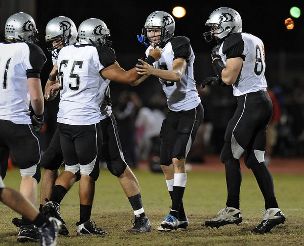 Former Archbishop McCarthy kicker Marshall Morgan kicked a Broward-record 13 field goals in 2010. He also holds the county record for the longest field goal--a 60-yarder he converted in 2011 while playing for American Heritage.