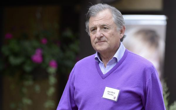 Jean-Rene Fourtou, Vivendi's chairman, at the Allen & Co. conference in Sun Valley, Idaho.