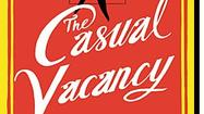 J.K. Rowling's 'The Casual Vacancy' cover revealed