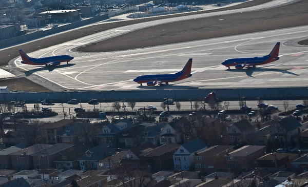 Midway International Airport has shorter runways than most big-city aircraft facilities.