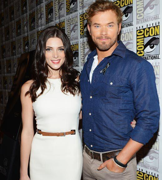 Celebs at Comic-Con 2012: Ashley Greene and Kellan Lutz