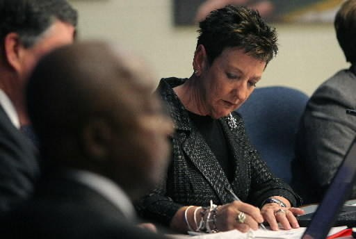 A new four-year contract with a base salary of $205,000 was awarded to Newport News Superintendent Ashby Kilgore July 9, 2012.
