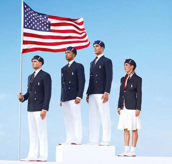 U.S. Olympic uniforms