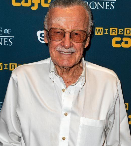 Celebs at Comic-Con 2012: Stan Lee