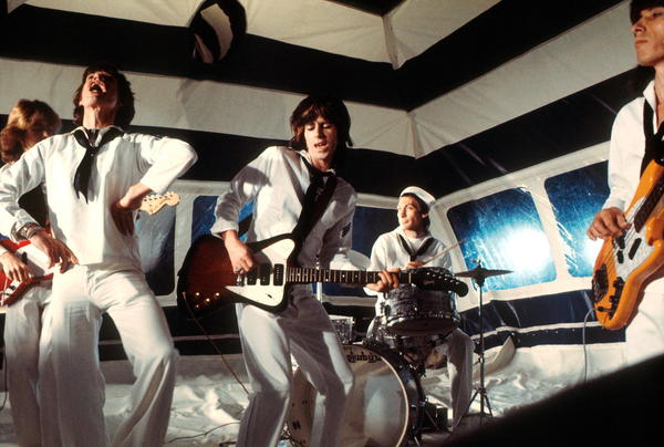 The Rolling Stones: The Rolling Stones perform in June 1974 in London.