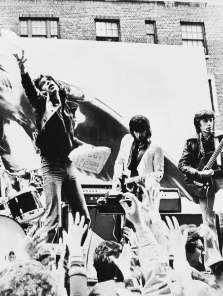 The Rolling Stones: The Rolling Stones perform in New York City in May 1975.