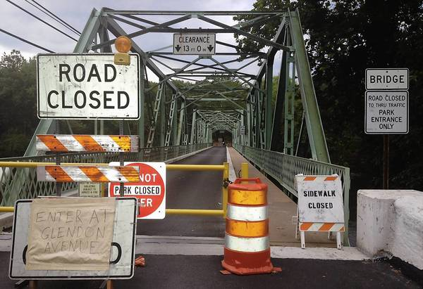 The Glendon Bridge was closed last week due to a structural failure. Officials expect the bridge to remain closed for at least three months.