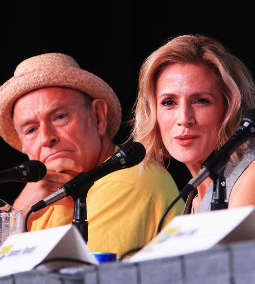 Celebs at Comic-Con 2012: Corbin Bernsen and Kirsten Nelson