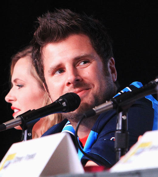 Celebs at Comic-Con 2012: Maggie Lawson and James Roday