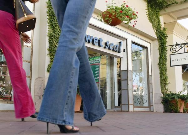 Wet Seal has more than 550 stores, including 470 Wet Seal locations and 83 Arden B. shops. Above, a store at Fashion Island in Newport Beach in 2004.