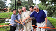 Urban Trail Ribbon Cutting Ceremony