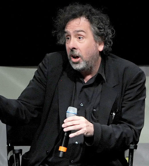 Celebs at Comic-Con 2012: Tim Burton