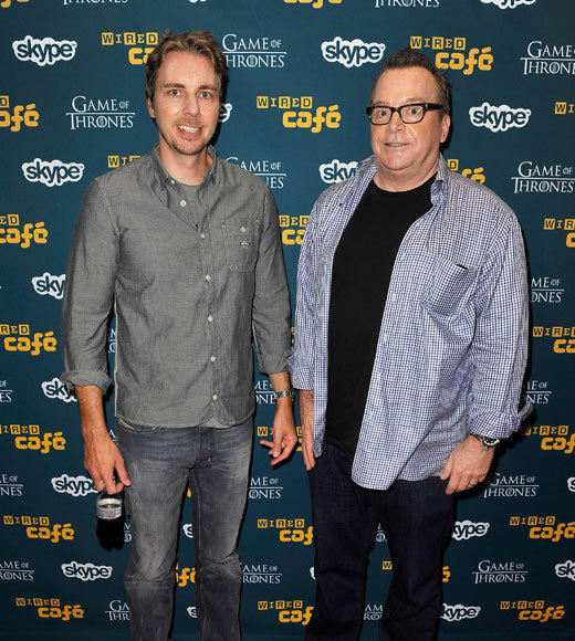 Celebs at Comic-Con 2012: Dax Shepard and Tom Arnold