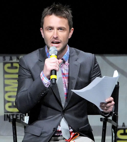 Celebs at Comic-Con 2012: Chris Hardwick