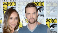 Maggie Q. and Shane West