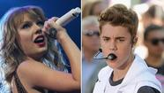 "<span style=""font-size: small;"">Singer Taylor Swift edged out teen heart-throb Justin Bieber as the highest-earning celebrity under 30, taking in $57 million, as women dominated the top spots on a list released by Forbes.com. Bieber, who brought in an estimated $55 million, was the only male among the top five earners, who included Rihanna at No. 3 with $53 million, followed by Lady Gaga and Katy Perry.</span>"