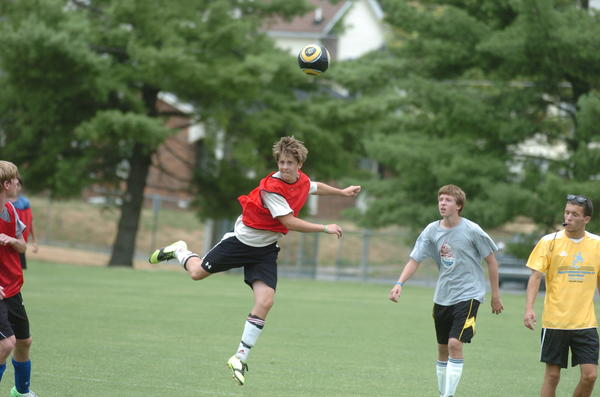 Photo Gallery: Centre College soccer camp 071212