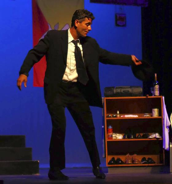 "Steve Scionti returns to his Middletiown roots to perform his solo show, ""Hear What's In Your Heart: A Shoemaker's Tale"" at Wesleyan University."