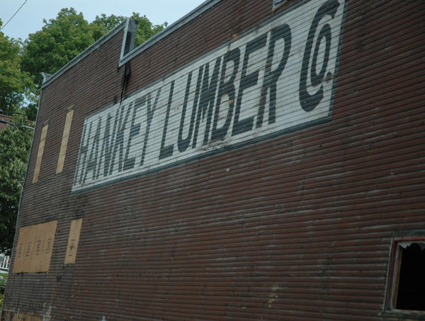 The long time Hankey Lumber building that stood for over 70 years will finally be knocked down.