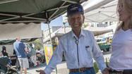 Farmers Market News: Harry Nicholas turns sweet 90