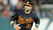 Nick Markakis will bat leadoff for the first time in his career tonight