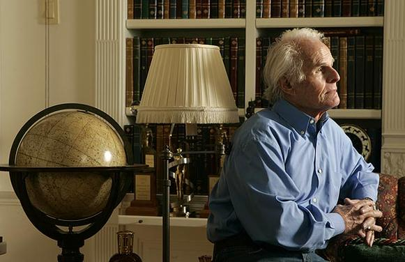 "Richard Zanuck is photographed in his Beverly Hills home Feb. 10, 2010.  He had four decades of hit films, including ""The Sound of Music"" and ""Jaws."""